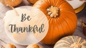 giving thanks on thanksgiving