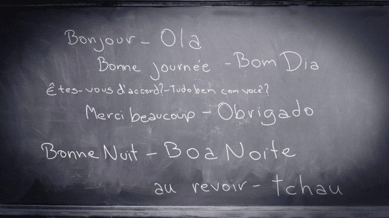 aprender francés portugúes