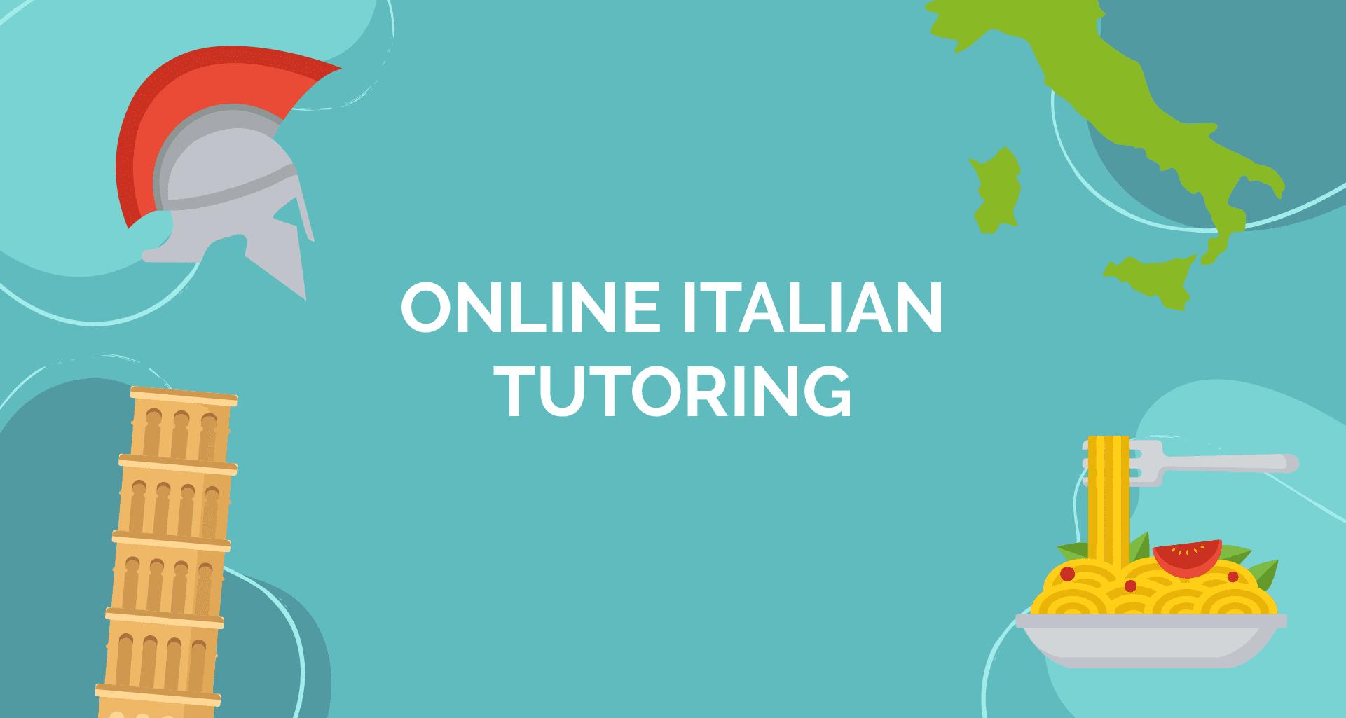 online italian tutoring